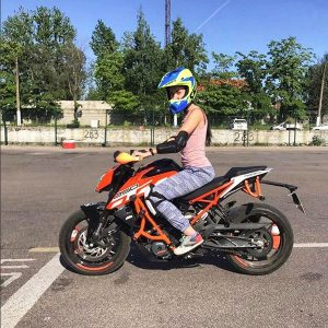 Выучиться на мотоцикл